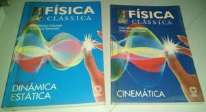Diversos Livros de Física - super novos e plastificados