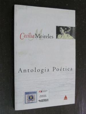 LIvro Antologia Poética de Cecília Meireles