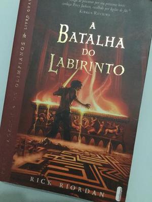 Livro A batalha do labirinto