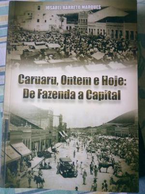 Livro sobre a história de Caruaru