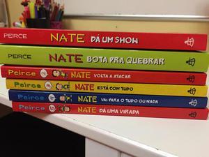 Livros da coleção Nate