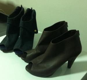 Sapatos Ankle Boot 35, kit 2 pares