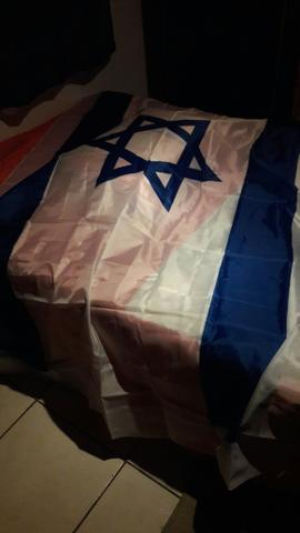 Bandeira Israel Grande vinda Israel.