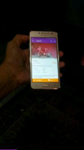 Celular top Samsung Galaxy J2 prime dourado TV Novo (Só