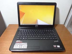 Entrego Notebook STI 4GB Semi novo / Detalhe Audio Audio nao
