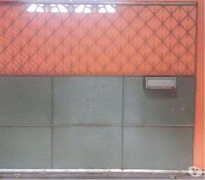 Portão de Garagem de correr duplo + portão social