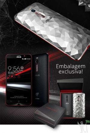 """Zenfone 2 Deluxe Special Edition 256GB Tela 5,5"""" 4GB Ram Dua"""