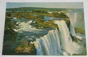 Cartão postal Varig Foz do Iguaçu