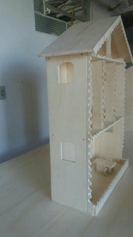 Casa de boneca da barbie