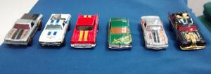 Hot Wheels Lote C/ 6 Carrinhos - Escala 1/64