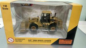 Miniatura Pá Carregadeira Caterpillar 950H escala 1:50