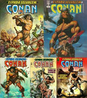 Coleção A Espada Selvagem de Conan completa