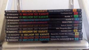 Coleção de Livros O Melhor do Karatê