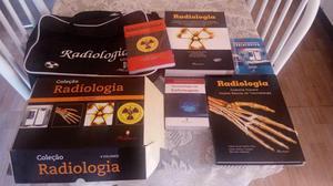 Coleção de livros de radiologia