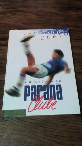 Livro Paraná clube