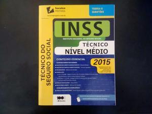 Livro Saraiva Concurso INSS -Nível Médio- [Nunca Usado]