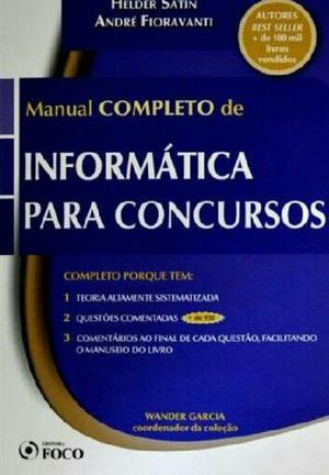 Manual Completo de Informática Para Concursos