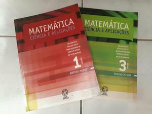 Matemática ciência e aplicações - Volume 1 e 3
