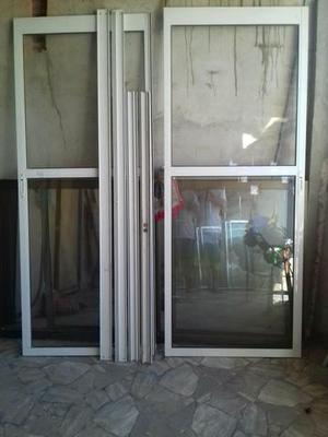 Porta de aluminio branca novinha