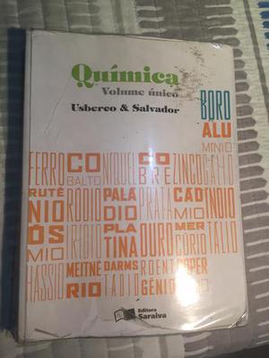 Química volume único, Editora Saraiva,Usberco e Salvador