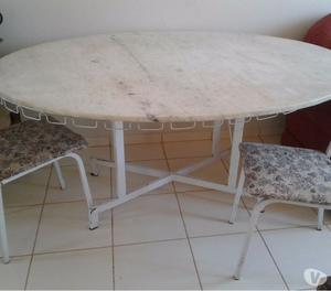 mesa oval marmore