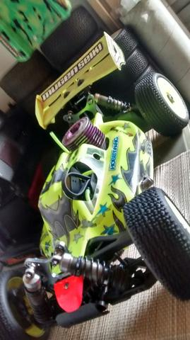Automodelo Buggy mbx7 (Aceito Bike 29)!!