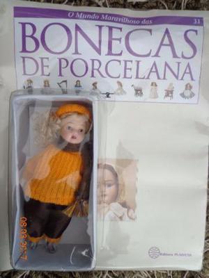 Coleção o Mundo Maravilhoso das Bonecas de Porcelana -
