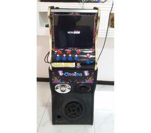 Máquina de música para festa infantil