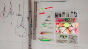 Torro kit de pesca trooco por vara para carretilha