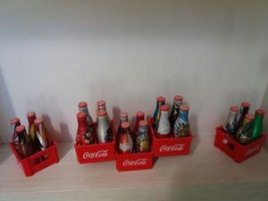 Vendo Coleção Completa (Mini Garrafinhas Coca Cola Copa