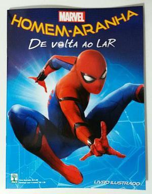 Álbum de figurinhas do Homem Aranha - De volta ao Lar