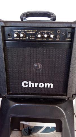 Amplificador de guitarra chrom fusion