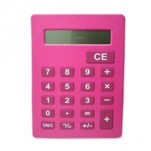 Calculadora De Mesa Grande Gigante Bk- Benko Rosa