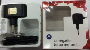 Carregador Original Motorola Turbo Cabo Dados Moto G Maxx S6