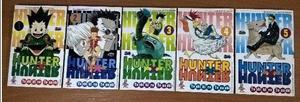 Hunter X Hunter - Volume 1 ao 5 - Em perfeito estado