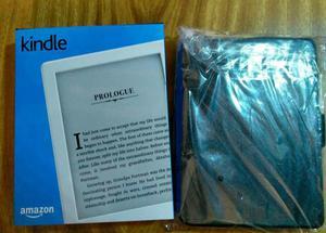 Kindle 8°Geração com Case, película, caneta Touch e