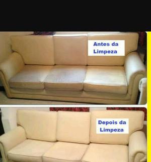 Lavagens e higienização de sofás