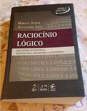 Livro Usado Raciocínio Lógico, Matemática, Financeira