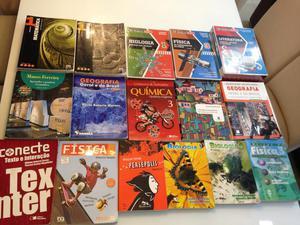 Livros Ensino Médio e Pré-vestibular