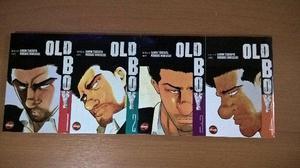 OldBoy - Volume 1 ao 4 - Em perfeito estado