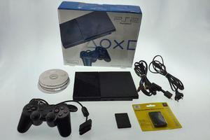 Playstation 2 Destravado Com Leitor Novo + Controle + Jogos