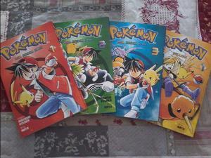 Pokémon Red, Green, Blue, Yellow - Panini - Mangá -