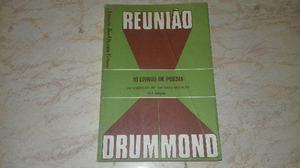 Reunião 10 Livros De Poesia Carlos Drummond De Andrade