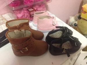 3 pares de calçados perfeito estado
