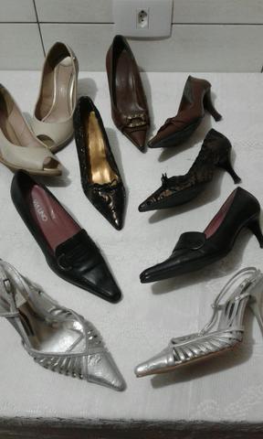 5 sapatos  por