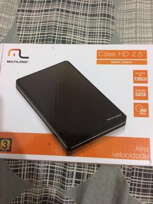 Case para HD Multilaser + HD 320 Gb