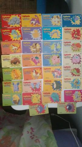 Coleção completa cartão pokémon