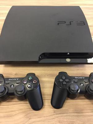 PlayStation 3 com 2 controles + 16 jogos