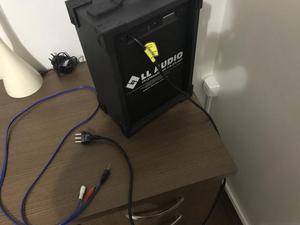 Caixa Caixa De Som Amplificada Microfone/guitarra Lx 40