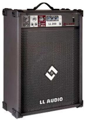 Caixa de som amplificada - LL ÁUDIO 200